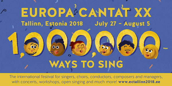 Musica will be present at Europa Cantat XX